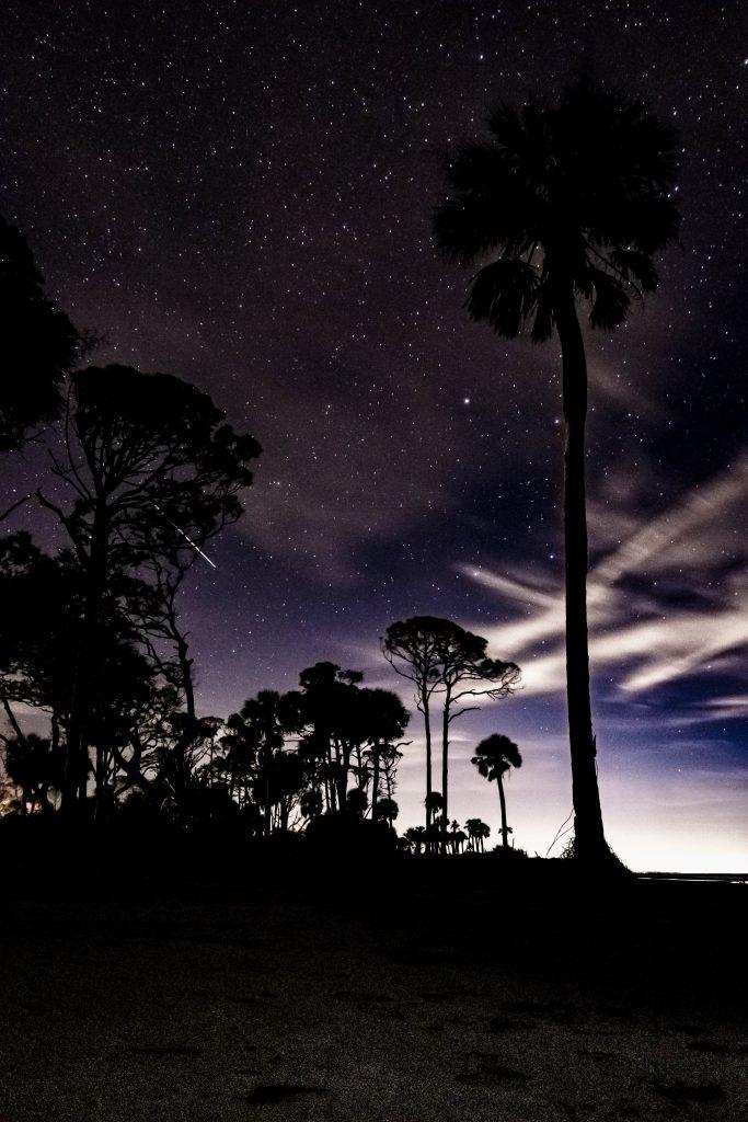 Night Beach 2 Hunting Island SP 1.19.20